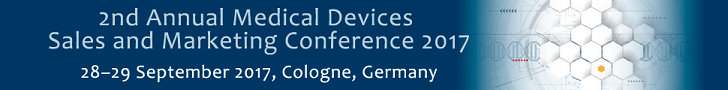 2nd Annual Medical Devices Sales and Marketing Conference 2017 - 28-29 September, Cologne